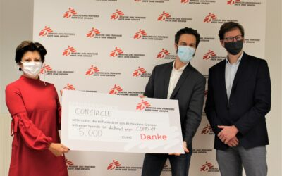 Donation of €5,000 to Doctors Without Borders