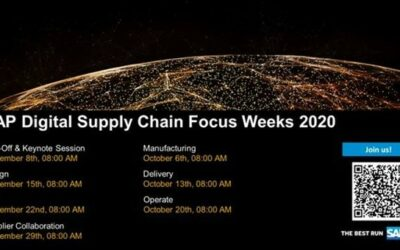 concircle is Partner of SAP Digital Supply Chain Focus Weeks – Manufacturing