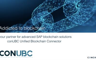 EthAtlanta – conUnfied Blockchain Connector (conUBC)